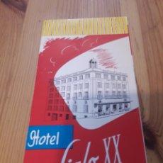 Coleccionismo Papel Varios: FOLLETO TRIPTICO HOTEL SIGLO XX TREMP CON FOTOS Y MAPA. Lote 167942274