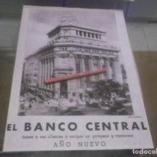 Coleccionismo Papel Varios: RECORTE PUBLICIDAD AÑOS 50 - EL BANCO CENTRAL ( FOTO PORTILLO ). Lote 168186032