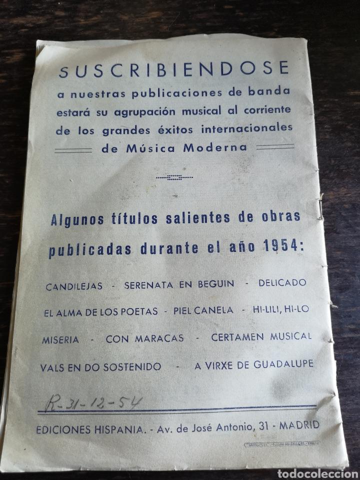 Coleccionismo Papel Varios: Marcha militar regimiento Valencia - Foto 2 - 168556465