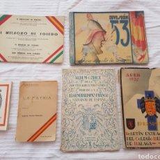 Coleccionismo Papel Varios: LOTE DE LIBROS DE LA GUERRA CIVIL. Lote 168617170