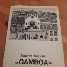Coleccionismo Papel Varios: FOLLETO SALA LLORENS 1977 GAMBOA ARTE PINTURA. Lote 168620792