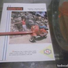 Coleccionismo Papel Varios: RECORTE PUBLICIDAD AÑOS 50 - MOTO VESPA LAMBRETTA. Lote 168762476