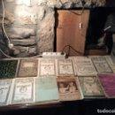 Coleccionismo Papel Varios: ANTIGUOS 24 CUADERNO / CUADERNOS ESCOLARES DE DIBUJO, MATEMÁTICAS, ESCRITURA ETC AÑOS 20-30 . Lote 169056264