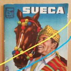 Coleccionismo Papel Varios: ANTIGUO PROGRAMA OFICIAL DE FIESTAS Y FERIA EN SUECA.(VALENCIA)AÑO 1959.. Lote 169155428
