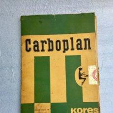Coleccionismo Papel Varios: PAPEL DE CALCO CARBOPLAN. Lote 169237456