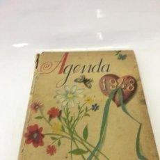 Coleccionismo Papel Varios: AGENDA 1948 SECCION FEMENINA DE F.E.T. Y DE LAS J.O.N.S. (SIN NADA ESCRITO). Lote 170069264