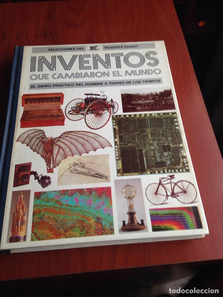 LIBRO INVENTOS QUE CAMBIARON EL MUNDO (Coleccionismo en Papel - Varios)