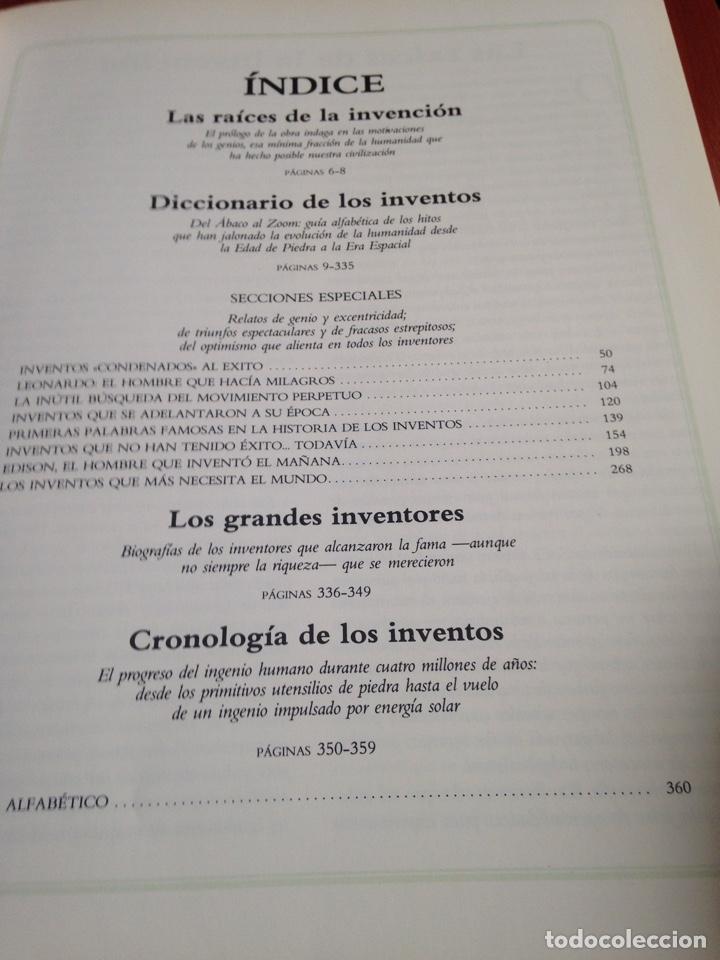 Coleccionismo Papel Varios: Libro inventos que cambiaron el mundo - Foto 3 - 170210877