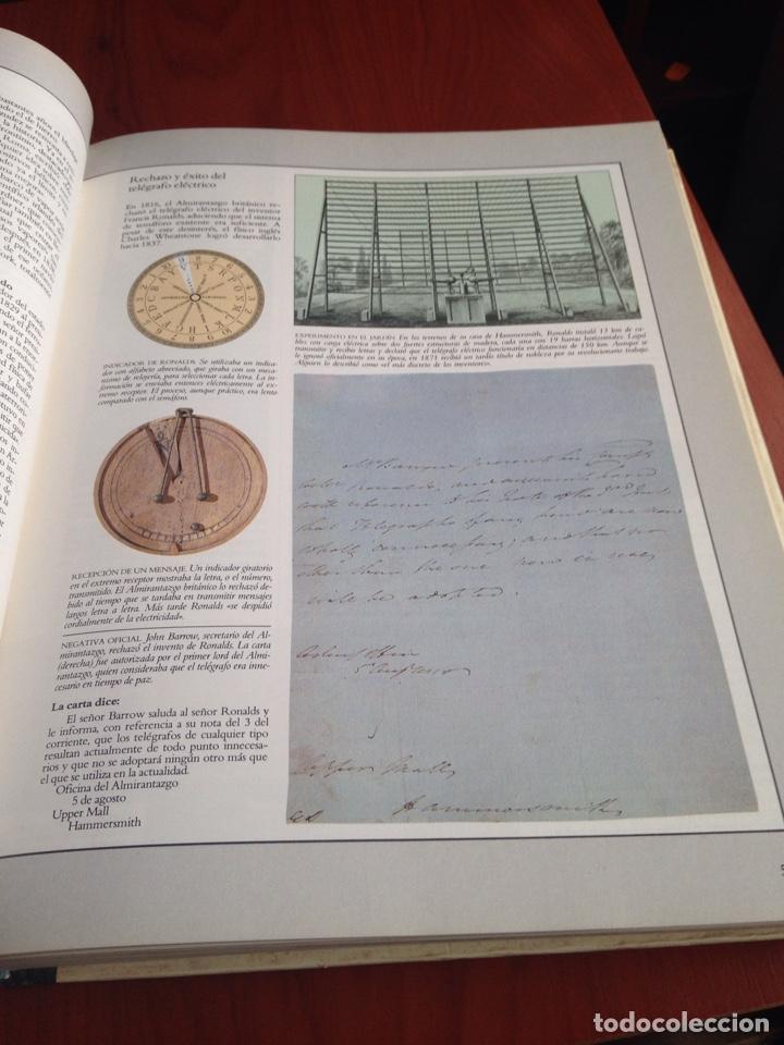 Coleccionismo Papel Varios: Libro inventos que cambiaron el mundo - Foto 6 - 170210877