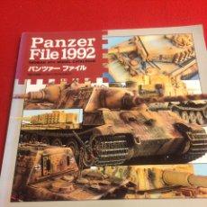 Coleccionismo Papel Varios: LIBRO PANZER FILE 1992. Lote 170294072