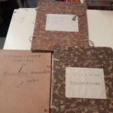 Coleccionismo Papel Varios: ANTIGUAS CARPETAS ARCHIVADOR. Lote 170339109