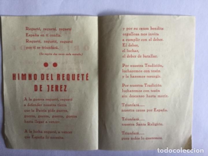Coleccionismo Papel Varios: HIMNO DE ORIAMENDI - Foto 2 - 170546180