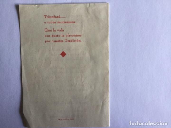 Coleccionismo Papel Varios: HIMNO DE ORIAMENDI - Foto 3 - 170546180