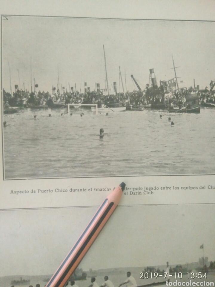 Coleccionismo Papel Varios: RECORTE PRENSA AÑOS 20/1925 FIESTA DEPORTIVA BAHÍA SANTANDERINA,CLUB MONTAÑES REGATAS ETC.VER - Foto 2 - 170937950