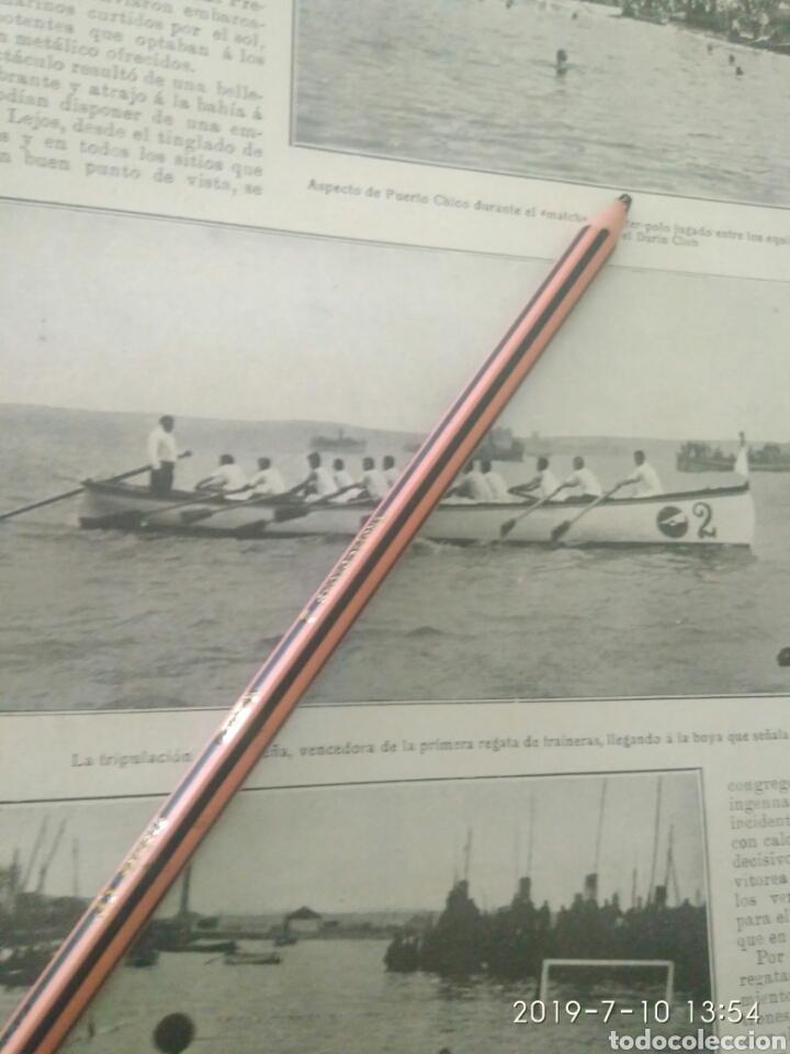 Coleccionismo Papel Varios: RECORTE PRENSA AÑOS 20/1925 FIESTA DEPORTIVA BAHÍA SANTANDERINA,CLUB MONTAÑES REGATAS ETC.VER - Foto 3 - 170937950