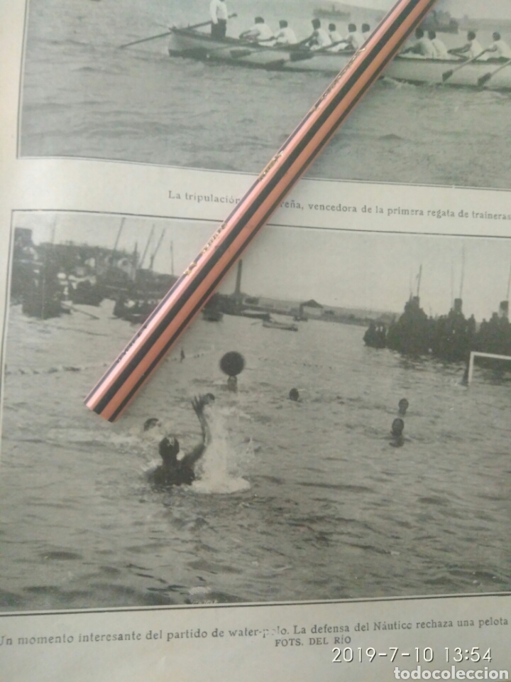 Coleccionismo Papel Varios: RECORTE PRENSA AÑOS 20/1925 FIESTA DEPORTIVA BAHÍA SANTANDERINA,CLUB MONTAÑES REGATAS ETC.VER - Foto 4 - 170937950