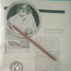 Coleccionismo Papel Varios: RECORTE PRENSA AÑOS 20/1925 PUBLICIDAD JABÓN HENO DE PRAVIA. Lote 170939914