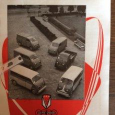 Coleccionismo Papel Varios: PUBLICIDAD FURGONETA DKW DE 1960. Lote 170993414