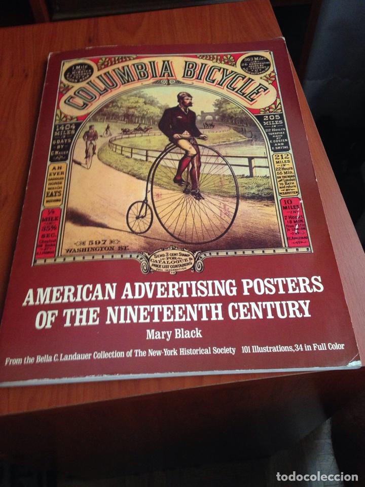 AMERICAN ADVERTISING POSTERS (Coleccionismo en Papel - Varios)