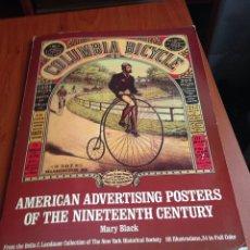 Coleccionismo Papel Varios: AMERICAN ADVERTISING POSTERS. Lote 171038440