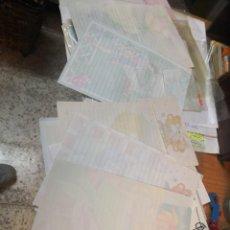 Coleccionismo Papel Varios: LOTE 37 CARTAS Y SOBRES OLOR COLECCIONABLES VARIADAS MÁS NOTAS DE REGALO SERIE DISNEY . Lote 171058495