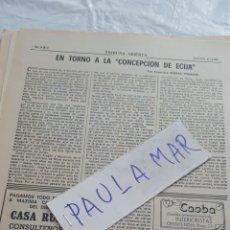 Coleccionismo Papel Varios: EN TORNO A LA CONCEPCIÒN, DE ECIJA, POR FRANCISCO ZUERAS TORRENS. Lote 171269053