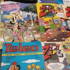 Coleccionismo Papel Varios: ZIPI Y ZAPE (4) LAS AVENTURAS DE SINDY Y TELEO, AÑOS 80. Lote 171396325