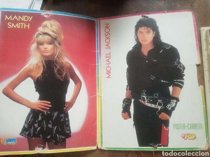 Coleccionismo Papel Varios: Carpeta superpop. Mandy Smith. Michael Jackson - Foto 2 - 171486882