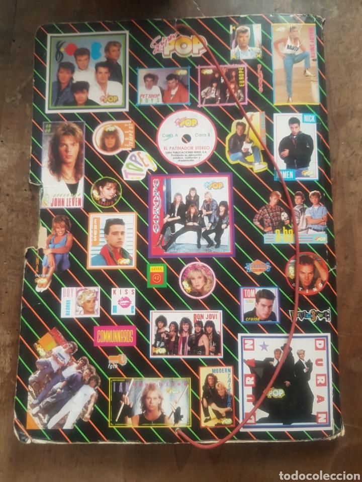 Coleccionismo Papel Varios: Carpeta superpop. Mandy Smith. Michael Jackson - Foto 3 - 171486882