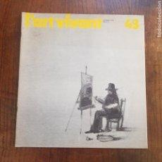 Coleccionismo Papel Varios: L'ART VIVANT N° 43 OCTOBRE 1973 PARIS. Lote 171587302