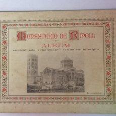 Altri oggetti di carta: MONASTERIO DE RIPOLL, ALBUM CON 24 VISTAS. Lote 171624142