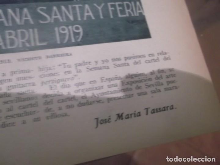 Coleccionismo Papel Varios: RECORTE AÑO 1933 - SEVILLA. LA FERIA DE SEVILLA A TRAVÉS DE SUS CARTELES, POR JOSÉ MARIA TASSARA - Foto 3 - 171707947