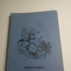 Coleccionismo Papel Varios: LIBRETA. Lote 171715632