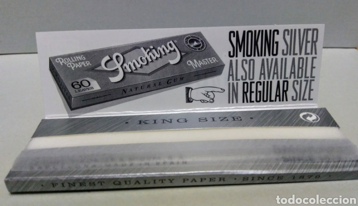Coleccionismo Papel Varios: Papel de fumar SMOKING - Foto 2 - 171790198