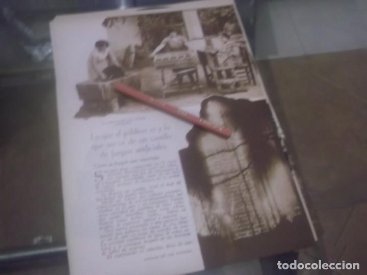 RECORTE AÑO 1933 - LA FABRICACIÓN DE MIXTOS GARIBALDI,CASTILLO FUEGOS, POR HIPOLITO TIO SANCHEZ (Coleccionismo en Papel - Varios)