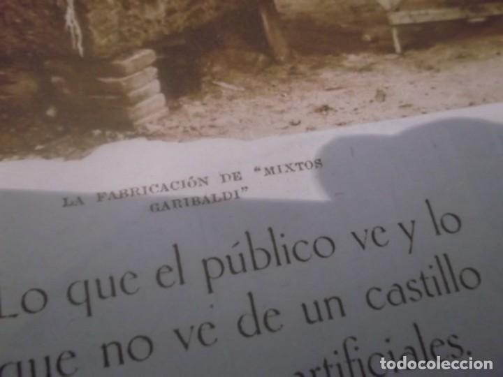 Coleccionismo Papel Varios: RECORTE AÑO 1933 - LA FABRICACIÓN DE MIXTOS GARIBALDI,CASTILLO FUEGOS, POR HIPOLITO TIO SANCHEZ - Foto 2 - 171820828