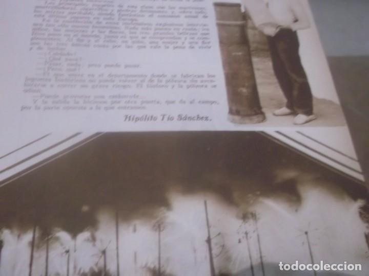 Coleccionismo Papel Varios: RECORTE AÑO 1933 - LA FABRICACIÓN DE MIXTOS GARIBALDI,CASTILLO FUEGOS, POR HIPOLITO TIO SANCHEZ - Foto 5 - 171820828