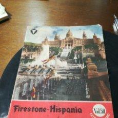 Coleccionismo Papel Varios: CATÁLOGO FIRESTONE . Lote 172147028