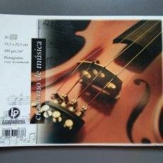 Coleccionismo Papel Varios: CUADERNO MUSICA A5. Lote 172203912
