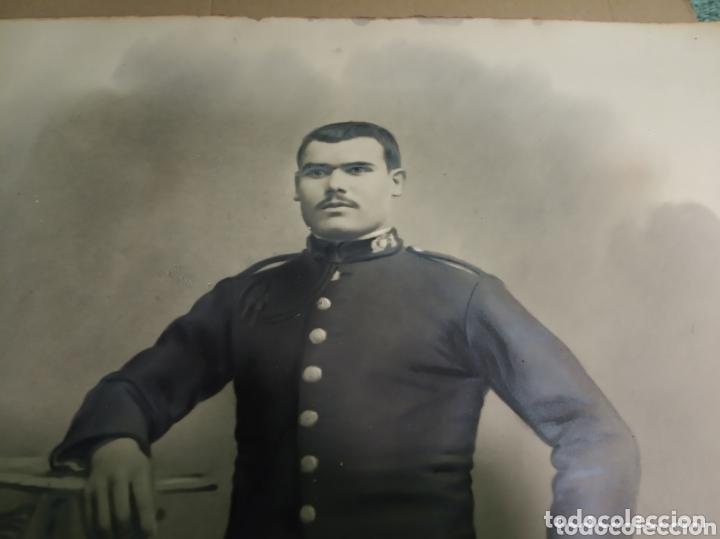 Coleccionismo Papel Varios: Retrato coloreado militar - Foto 2 - 172381449