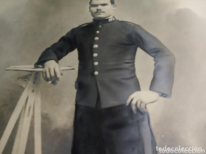Coleccionismo Papel Varios: Retrato coloreado militar - Foto 3 - 172381449