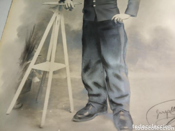 Coleccionismo Papel Varios: Retrato coloreado militar - Foto 4 - 172381449