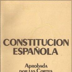Coleccionismo Papel Varios: DOCUMENTO REFERENDUM NACIONAL DIA CONSTITUCION ESPAÑOLA 6 DE DICIEMBRE DE 1978. Lote 172575713
