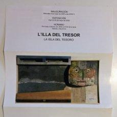 Coleccionismo Papel Varios: FOLLETO EXPOSICIÓN MARTI ROM GALERÍA DEL PALAU 2009. Lote 172654682