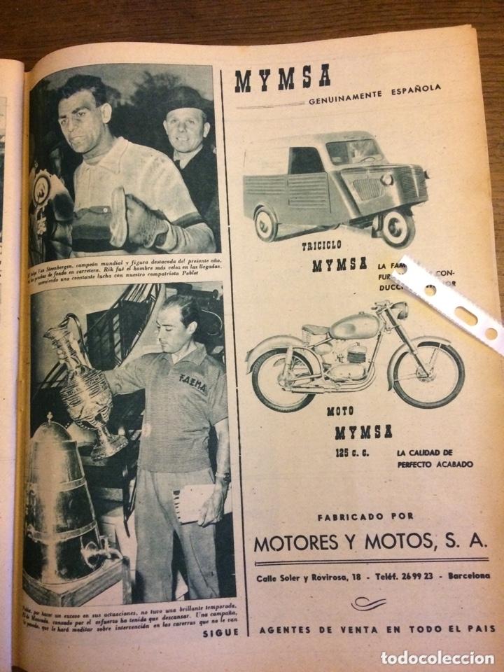 PUBLICIDAD AUTOMÓVIL MOTO TRICICLO MYMSA DE 1957 (Coleccionismo en Papel - Varios)