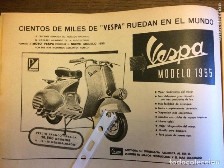 PUBLICIDAD MOTO VESPA DE 1955 (Coleccionismo en Papel - Varios)