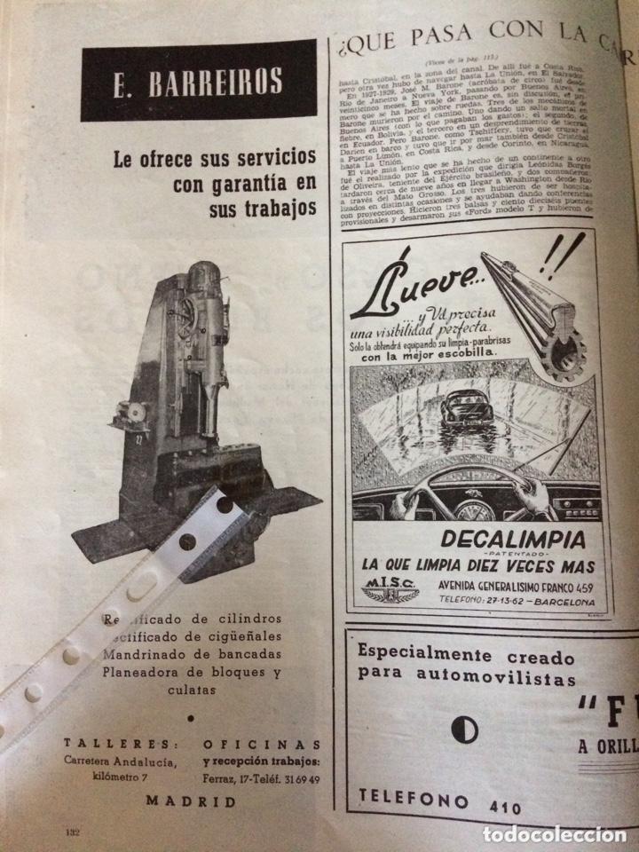 PUBLICIDAD AUTOMÓVIL CAMIÓN BARREIROS DE 1953 (Coleccionismo en Papel - Varios)