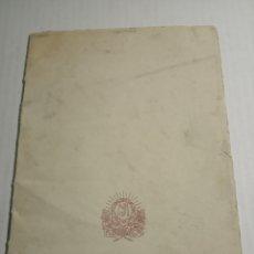 Coleccionismo Papel Varios: LIBRO ESCOLAR DE NOTAS. Lote 172864295
