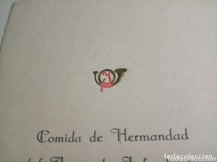 Coleccionismo Papel Varios: Tarjeta militar - Foto 2 - 172918682