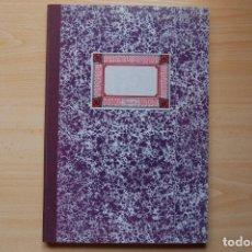 Coleccionismo Papel Varios: ANTIGUOS LIBROS DE OFICINA MIQUELRIUS. LIBRO MAYOR.. Lote 173212808